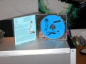 Picture: CD case opened