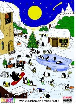 Tux Adventskalender